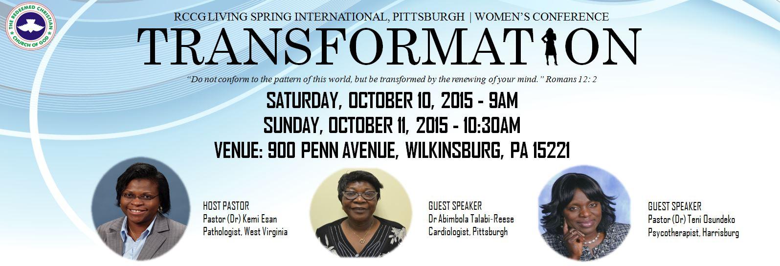Women's Conference Flyer 4 Website